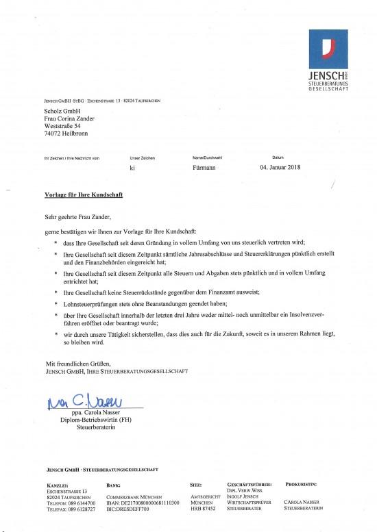 Jensch Steuer